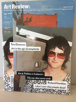 Art Review July August 2007 - Art & Politics In Lebanon + Richard Hamilton