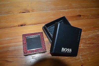 hugo boss intense boxed shimmer picture frame in red