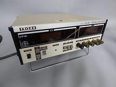 A Good Working Adex Ax-221 Digital Lcr Meter