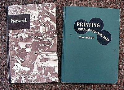 Letterpress Printing: Two Good Vocational Textbooks [L755]