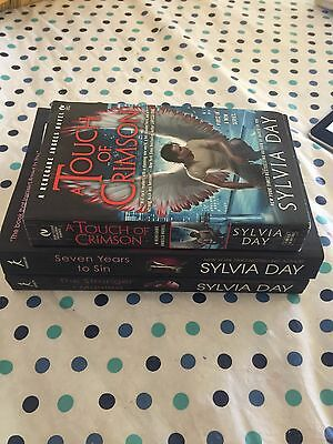 Sylvia Day Lot of 3 Pb Books Seven Years to Sin/Stranger I Married +