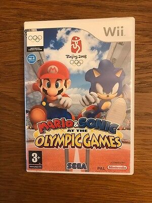 MARIO AND SONIC AT THE OLYMPIC GAMES -  WII game / jeu