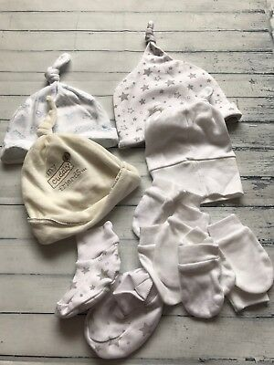 Baby Unisex Clothes Bundle Newborn/ 0-3 Months- Accessories