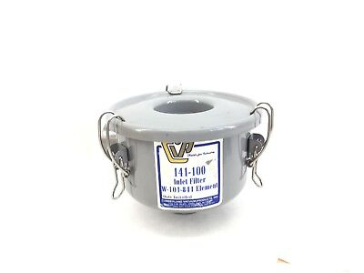 Cumberland Vacuum Products 142-100 Metal Inlet Filter Assy - Grey  (H301)