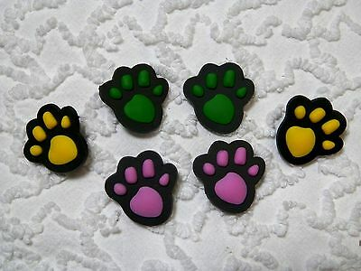 C 618 US Seller New Pet Paws Clog Plug Shoe Charms Will Also Fit Jibitz,Croc