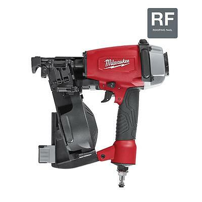"New Milwaukee 1-3/4"" Coil Roofing Nailer 7220-20 Tool Free Depth Adjustment"