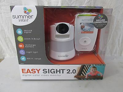 Summer Infant Easy Sight 2.0 Digital Color Video Baby Monitor