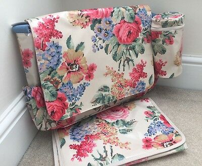 CATH KIDSTON  Luxury Nappy/Changing/Diaper Bag  Bloomsbury Bouquet BNWT