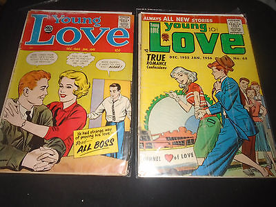 Young Love (Dec 1960-Jan 1961; Dec 1955-Jan 1956) My Own Romance #9  Comic Lot