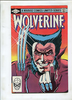 Wolverine Limited Series #1 (7.5) Key Frank Miller Issue! 1St Solo Title!