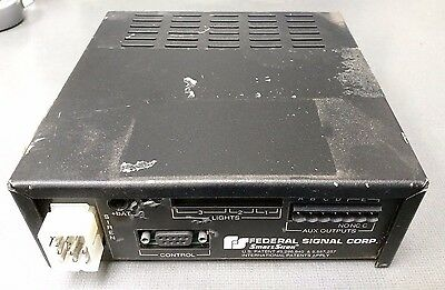 federal signal ss2000-sb-ercsn siren control electronic sound amplifier  driver