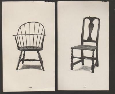 Tobey Furniture Co Chicago IL 1856-1954 Chair Old Colony Elizabethan Rare