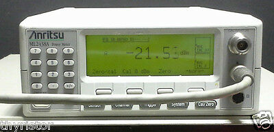 Anritsu ML2438A RF Power Meter. REFURBISHED. Warranty. With cable. Dual channel