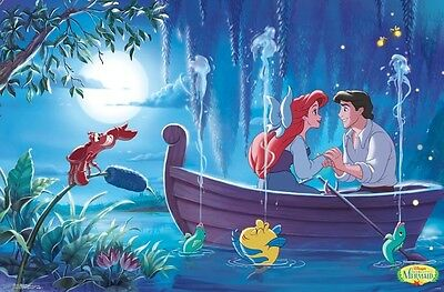 ARIEL - KISS THE GIRL - LITTLE MERMAID POSTER - 22x34 - DISNEY MOVIE 15562