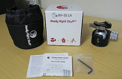 Really Right Stuff (RRS) BH-55 BH 55 Tripod ballhead with lever release Used