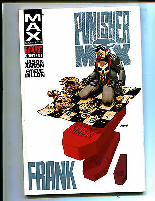 PUNISHER MAX: FRANK TPB 1st PRINT! (VF)