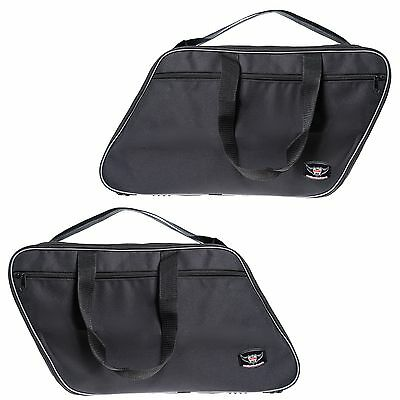 Pannier liners luggage bags to fit TRIUMPH THUNDERBIRD COMMANDER saddlebags pair