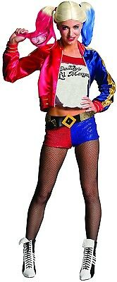 Rubie's Official Harley Quinn Ladies Fancy Dress Halloween Suicide Squad Womens