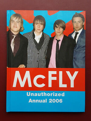 McFly Unautorized Annual 2006 Hardback Book