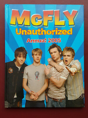 McFly Unautorized Annual 2005 Hardback Book