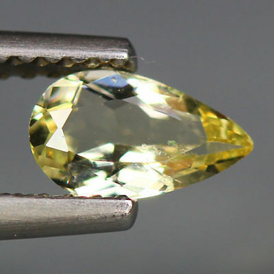 0.44 Cts_Fabulous Stunning Gemstone_100 % Natural Unheated Heliodor Yellow Beryl
