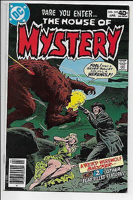 1980 Dc Comics The House Of Mystery Comic #279