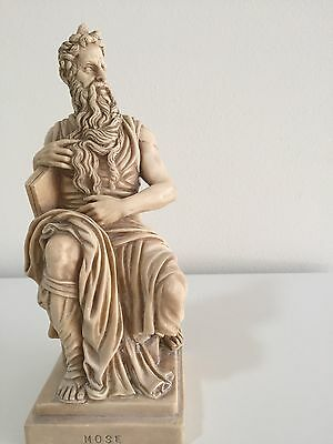 Vintage/ Antique Statuette of Moses Moses