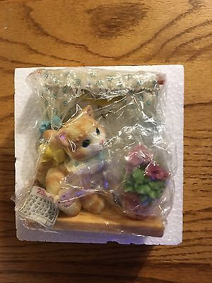 Calico Kittens 490210 Wishes are Windows of Hope for the Future w Box