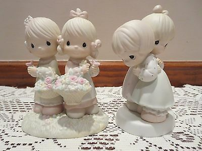 Precious Moments Figurines- To My Forever Friend & That's What Friends Are For