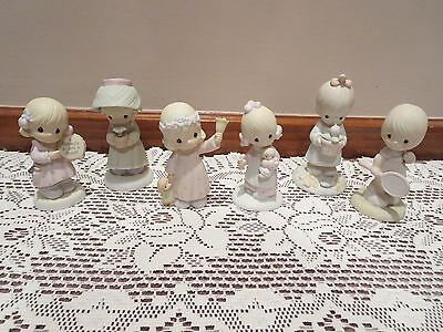 Precious Moments Figures (Lot of Six Figurines)  **GREAT CONDITION**