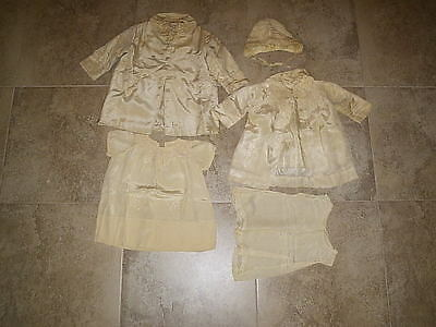 Antique 5 Piece Christening Outfit Gowns Look At Pix Well Nice Items