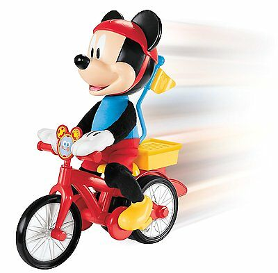 New Mickey Mouse Clubhouse Silly Cycling Mickey Wheelie Childrens Kids Toy Toys