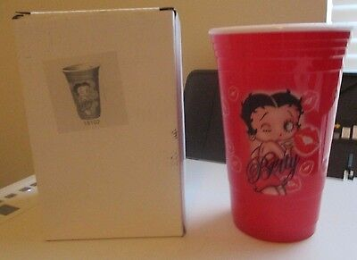 Spoontiques 18102 Betty Boop Party Cup, Red NIP