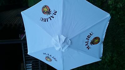 8 Ft Malibu Rum Wooden Umbrella Awesome For The Deck