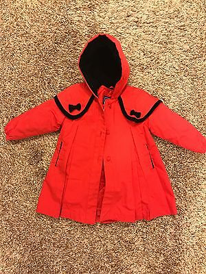 NWOT Red Rothschild coat size 24 months