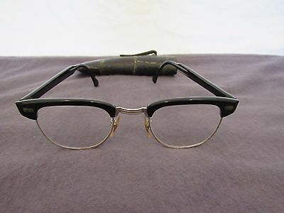 Vintage Man Eye Glasses Bifocals Mid Century U S Optical Made in USA Men