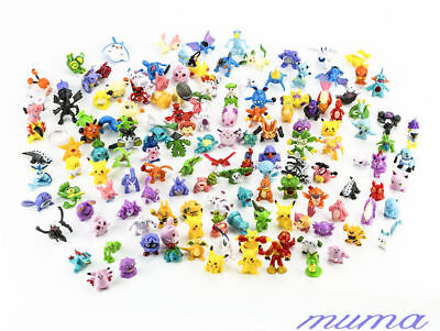 24pcs/lot Mini 2-3cm random Pearl action Figure Figurine Lots Pokemon PVC ToyHot