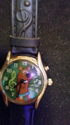 "Vintage ""Scooby Doo"" Where Are You Musical Wrist Watch"
