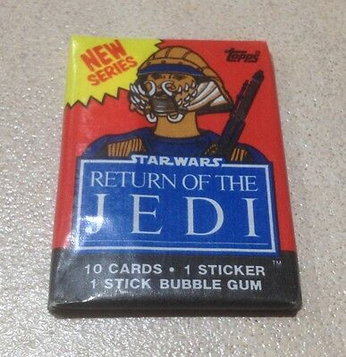"1983 Topps ""Return of the Jedi - Series 2"" - Wax Pack (Lando Variation)"