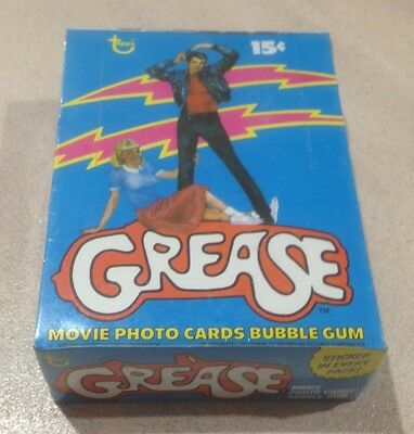 "1978 Topps ""Grease - Series 1"" - Full Box of 36 Wax Packs"