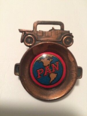 Rare Antique Advertising Watch Fob Pan Motor Car Co. St. Cloud Mn. 1918 Auto
