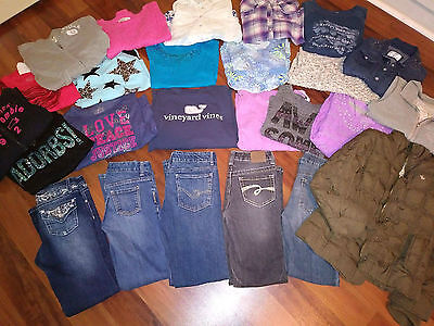 Make Offer! Girl's Size 10-12-14 Back To School 25 pc Lot - Abercrombie, Justice