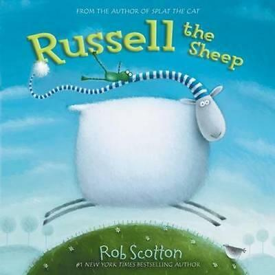 NEW Russell the Sheep By Rob Scotton Paperback Free Shipping