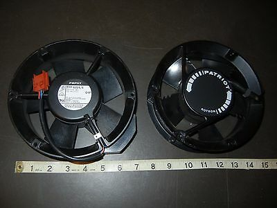 COMAIR ROTRON PT77B3 PATRIOT Cooling FAN & Papst TYP 6224/4 Lot of 2 fans