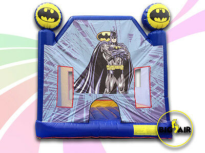 RELOCATION SALE NEW COMMERCIAL Batman Jumping Castle - 4m. PRICE SLASHED