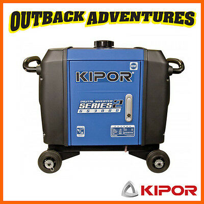 Kipor Series 2 Digital Inverter Generator Gs3000