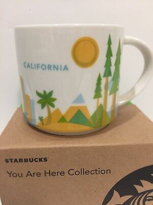 California CA Starbucks You Are here YAH Mug