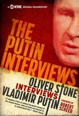NEW The Putin Interviews By Oliver Stone Paperback Free Shipping