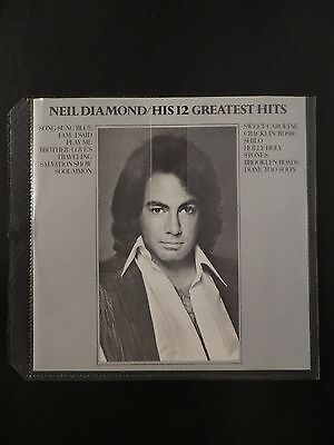 His 12 Greatest Hits by Neil Diamond (CD, MCA)