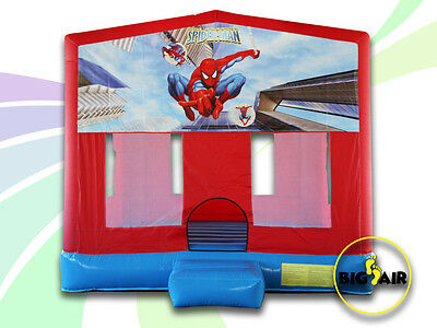 Brand New Commercial Quality Spiderman Jumping Castle - 4m x 4m x 4m
